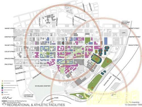 娱乐休闲运动区域规划平面图