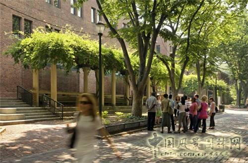 三 宾夕法尼亚大学校园空间规划设计图片