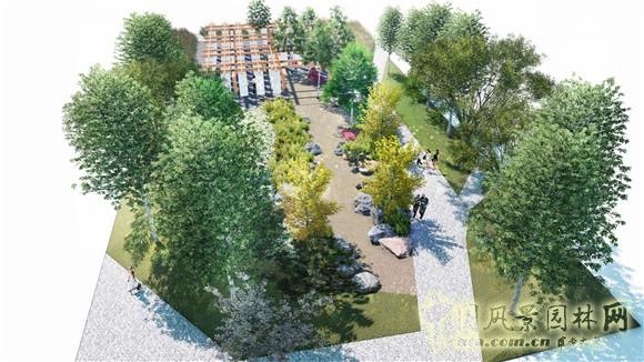 会园区创意花园于2014年1月委托中国风景园林网面向全球征集竞赛方案